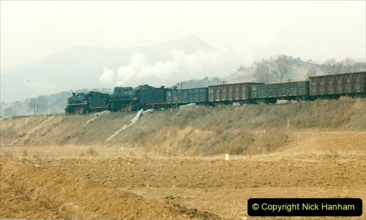China 1997 November Number 1. (155) Linesiding on the Steel Works branch. 155
