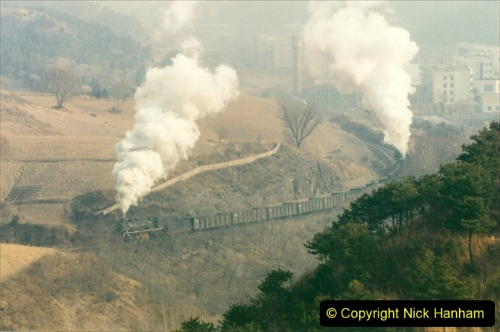 China 1997 November Number 1. (159) Linesiding on the Steel Works branch. 159