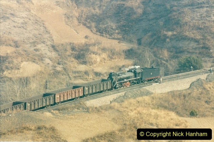China 1997 November Number 1. (179) Linesiding on the Steel Works branch. 179