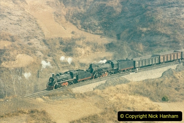 China 1997 November Number 1. (180) Linesiding on the Steel Works branch. 180