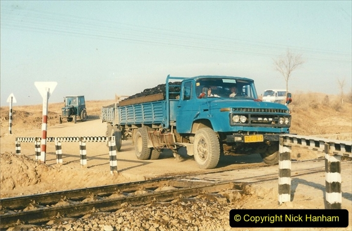 China 1997 November Number 1. (193) In 1997 nearly all trucks were painted in a standard blue. 193