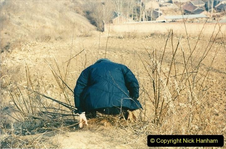 China 1997 November Number 1. (215) More branch linesiding. 215