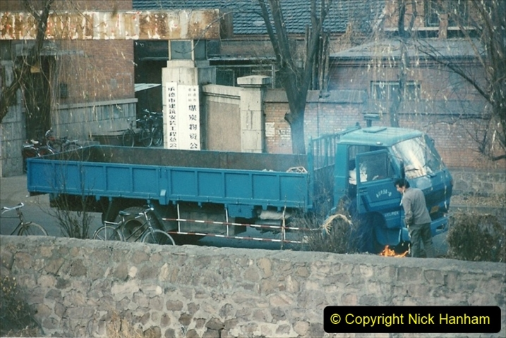 China 1997 November Number 1. (249) Still defrosting that truck.249