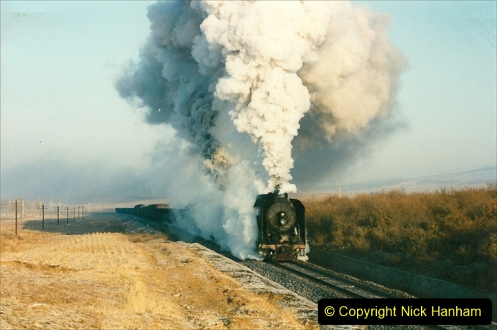 China 1997 November Number 1. (264) Various locations for linesiding near Yebaishuo. 264