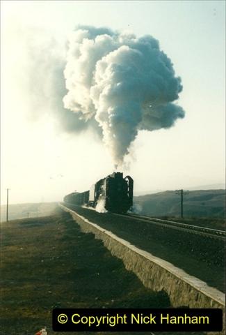 China 1997 November Number 1. (274) Various locations for linesiding near Yebaishuo. 274