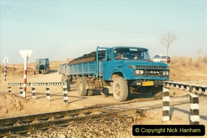 China 1997 November Number 1. (278) Various locations for linesiding near Yebaishuo. 278
