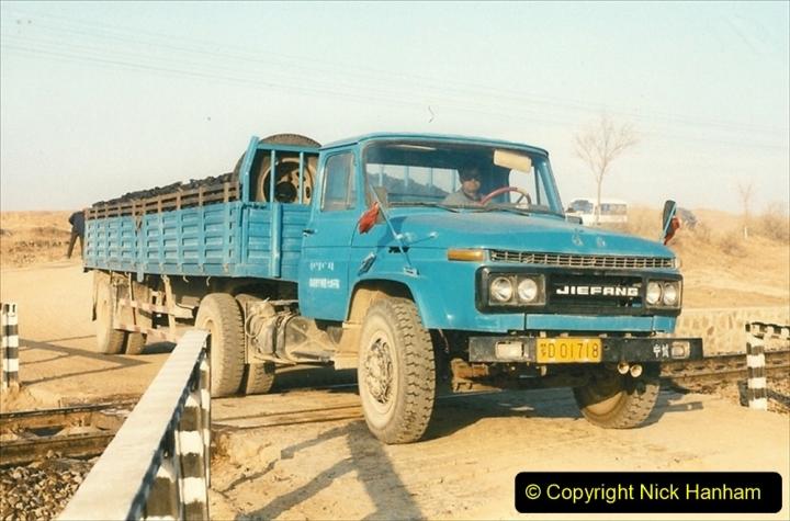 China 1997 November Number 1. (279) Various locations for linesiding near Yebaishuo. 279
