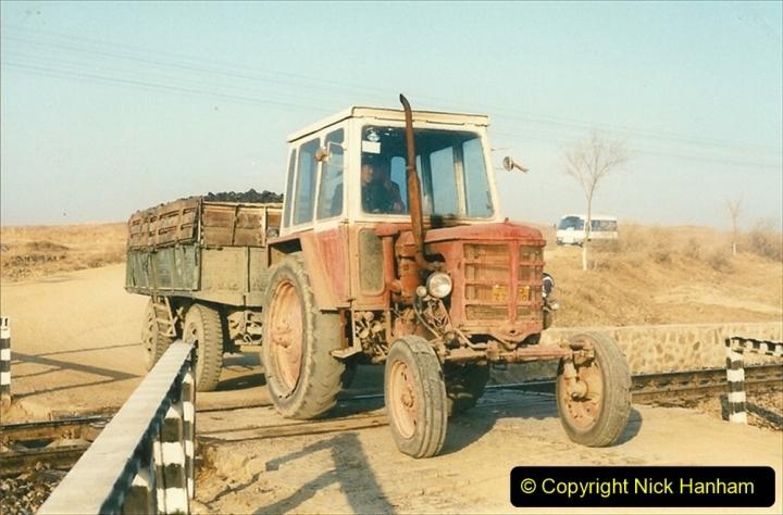 China 1997 November Number 1. (280) Various locations for linesiding near Yebaishuo. 280