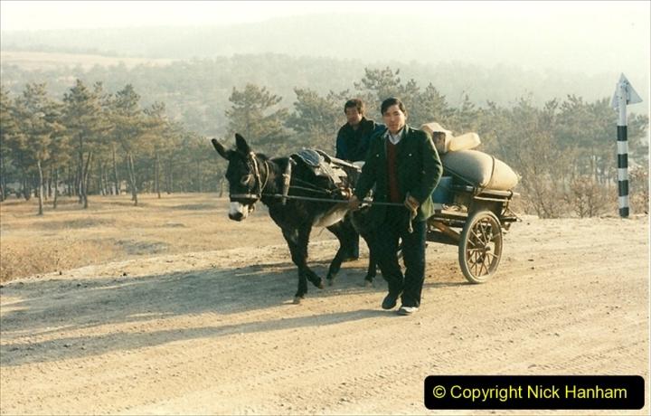 China 1997 November Number 1. (281) Various locations for linesiding near Yebaishuo. 281