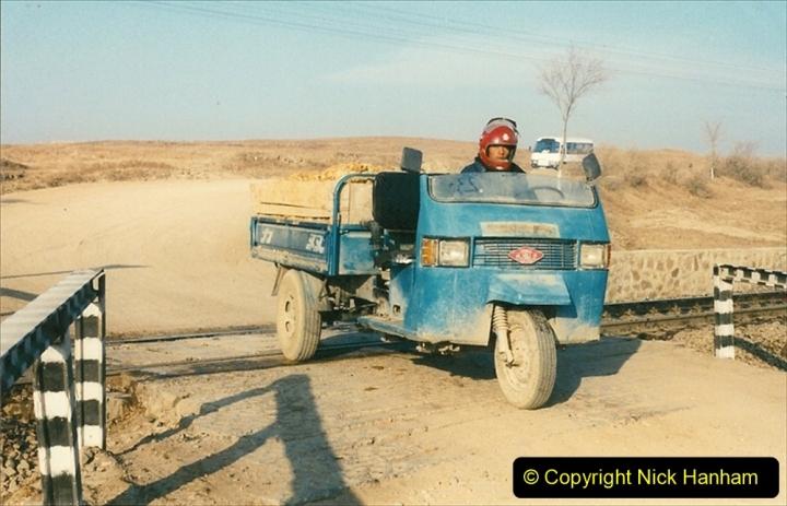 China 1997 November Number 1. (282) Various locations for linesiding near Yebaishuo. 282