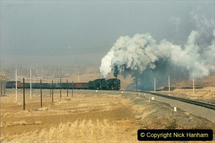 China 1997 November Number 1. (284) Various locations for linesiding near Yebaishuo. 284