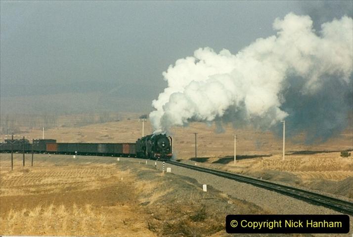 China 1997 November Number 1. (285) Various locations for linesiding near Yebaishuo. 285