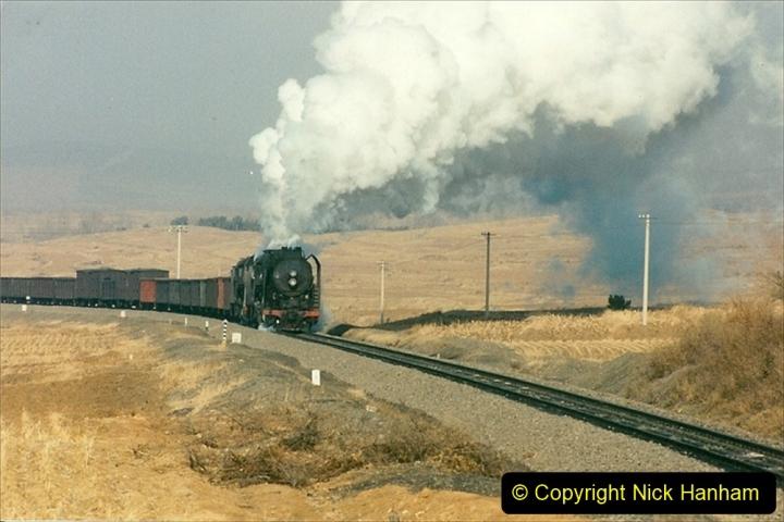 China 1997 November Number 1. (286) Various locations for linesiding near Yebaishuo. 286