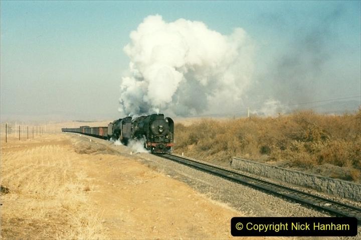 China 1997 November Number 1. (287) Various locations for linesiding near Yebaishuo. 287