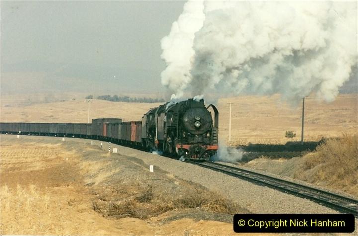 China 1997 November Number 1. (288) Various locations for linesiding near Yebaishuo. 288