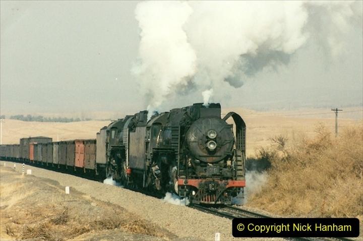 China 1997 November Number 1. (290) Various locations for linesiding near Yebaishuo. 290