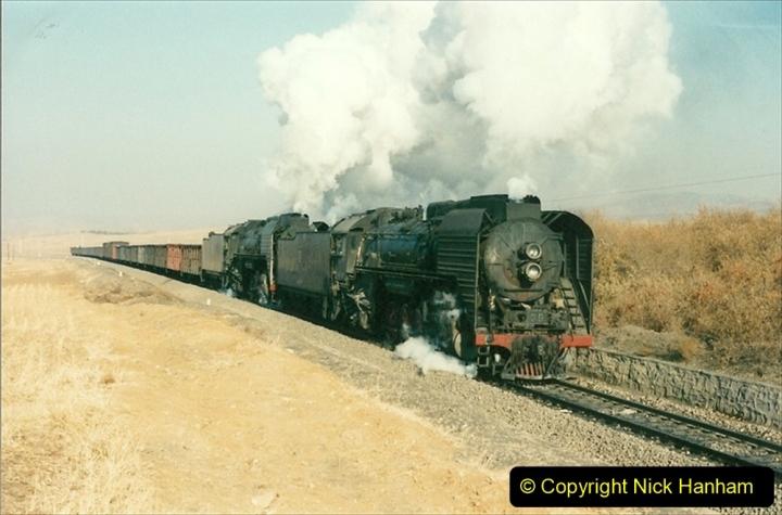 China 1997 November Number 1. (291) Various locations for linesiding near Yebaishuo. 291