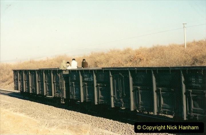 China 1997 November Number 1. (296) Various locations for linesiding near Yebaishuo. 296