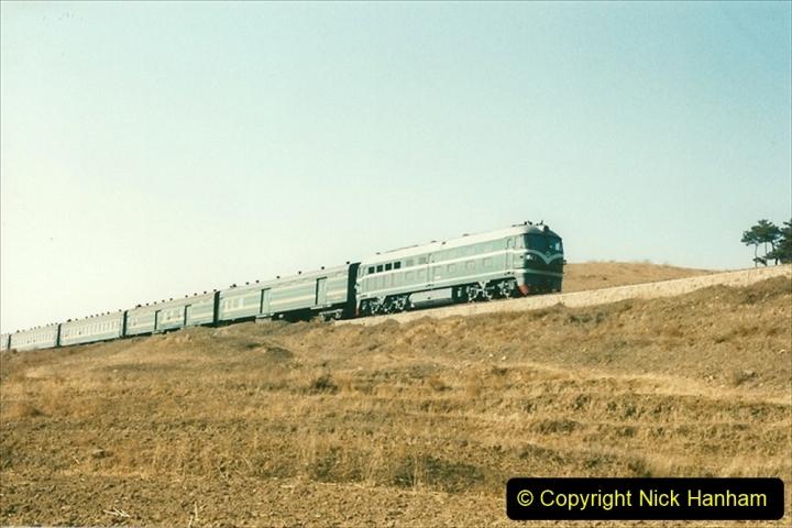 China 1997 November Number 1. (297) Various locations for linesiding near Yebaishuo. 297