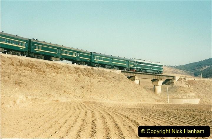 China 1997 November Number 1. (299) Various locations for linesiding near Yebaishuo. 299