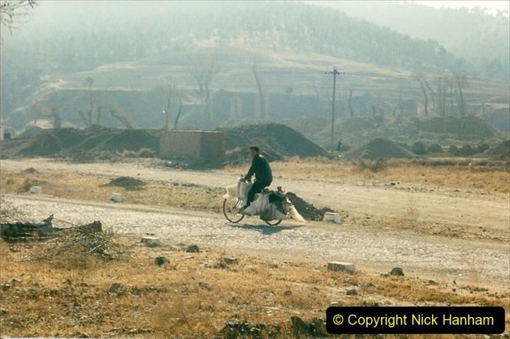 China 1997 November Number 1. (300) Various locations for linesiding near Yebaishuo. 300