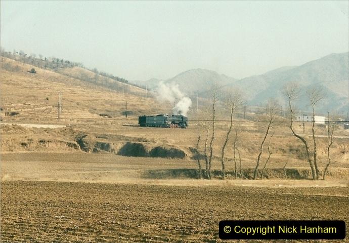 China 1997 November Number 1. (301) Various locations for linesiding near Yebaishuo. 301