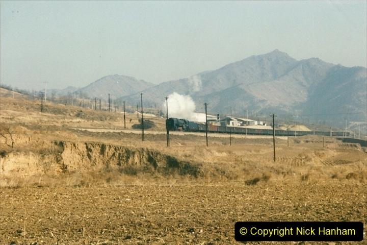 China 1997 November Number 1. (305) Various locations for linesiding near Yebaishuo. 305