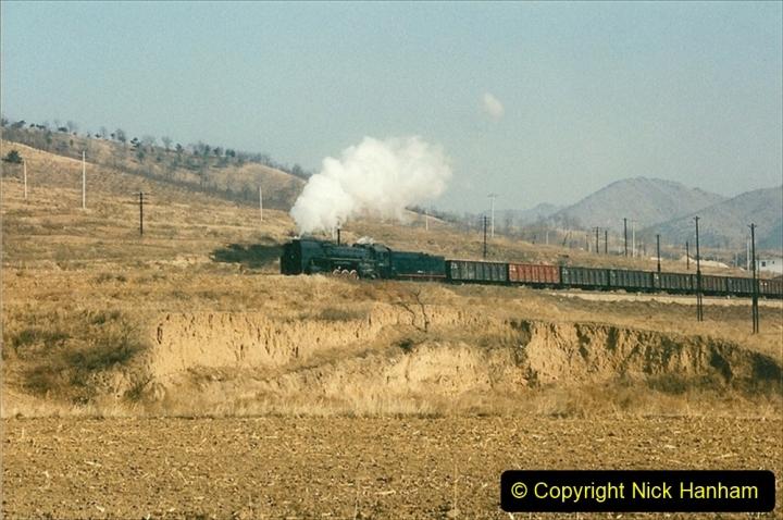 China 1997 November Number 1. (306) Various locations for linesiding near Yebaishuo. 306