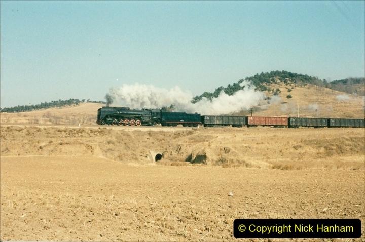 China 1997 November Number 1. (307) Various locations for linesiding near Yebaishuo. 307
