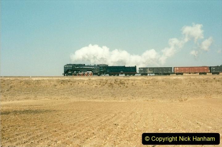 China 1997 November Number 1. (308) Various locations for linesiding near Yebaishuo. 308