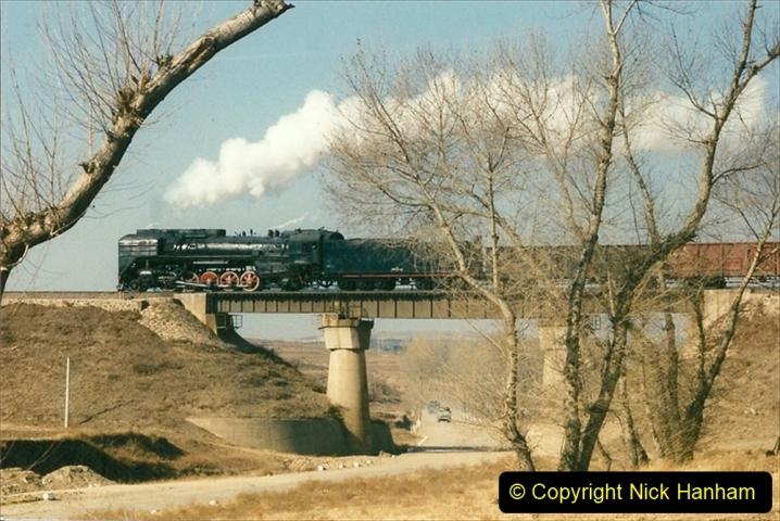 China 1997 November Number 1. (309) Various locations for linesiding near Yebaishuo. 309