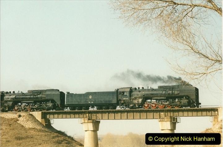 China 1997 November Number 1. (314) Various locations for linesiding near Yebaishuo. 314