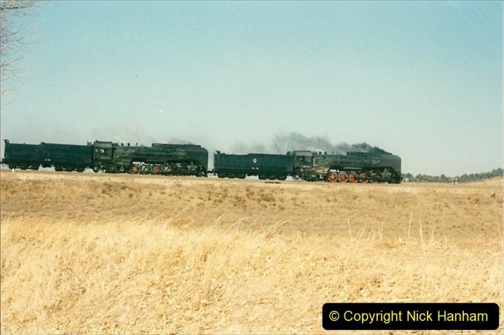 China 1997 November Number 1. (315) Various locations for linesiding near Yebaishuo. 315