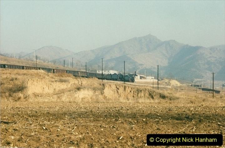 China 1997 November Number 1. (318) Various locations for linesiding near Yebaishuo. 318
