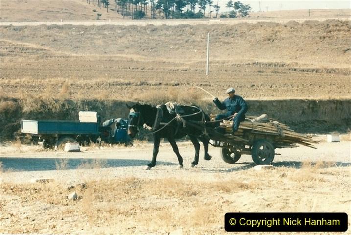 China 1997 November Number 1. (319) Various locations for linesiding near Yebaishuo. 319