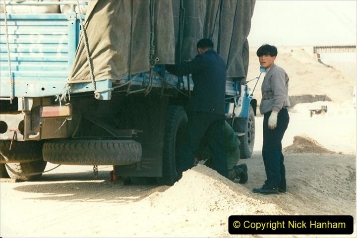 China 1997 November Number 1. (320) Various locations for linesiding near Yebaishuo. 320