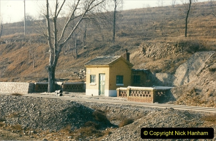 China 1997 November Number 1. (331) Various locations for linesiding near Yebaishuo. 331