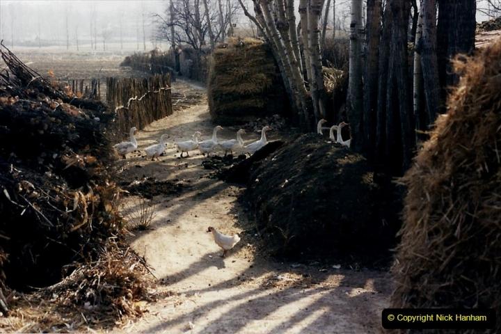 China 1997 November Number 1. (332) Various locations for linesiding near Yebaishuo. 332