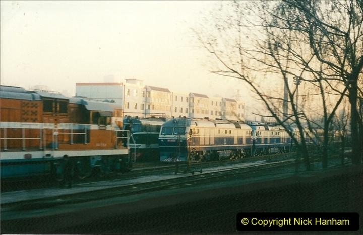 China 1997 November Number 1. (47) Leaving Beijing for Chengde. 047