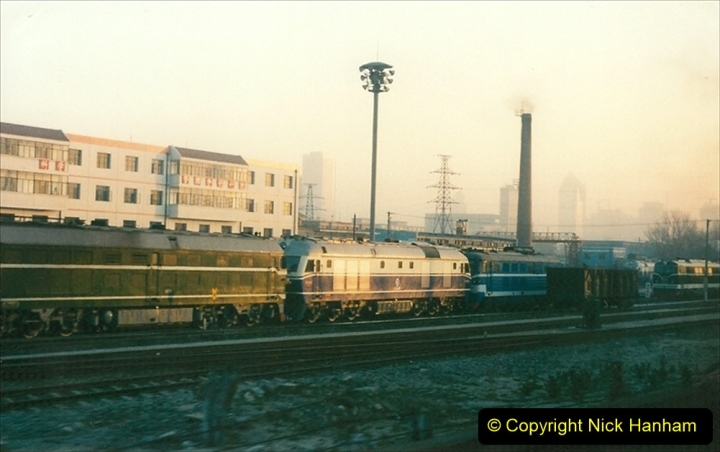 China 1997 November Number 1. (48) Leaving Beijing for Chengde. 048