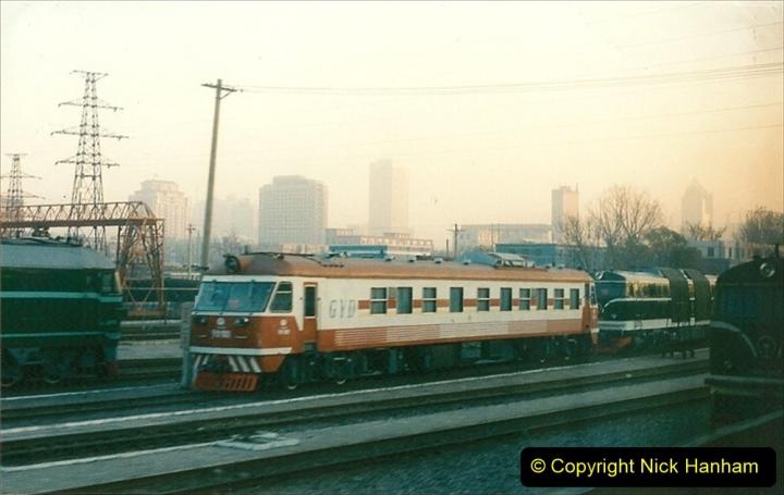 China 1997 November Number 1. (49) Leaving Beijing for Chengde. 049