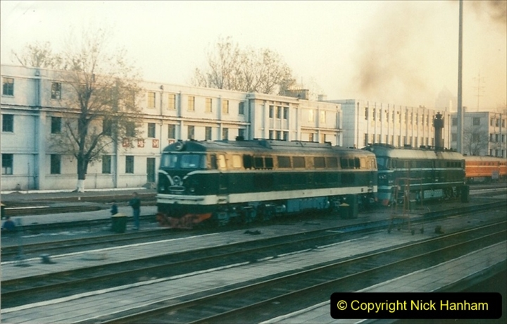 China 1997 November Number 1. (50) Leaving Beijing for Chengde. 050