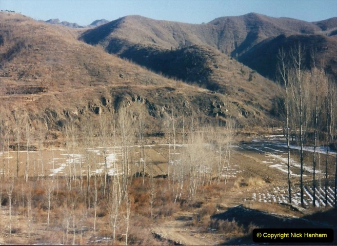 China 1997 November Number 1. (54) On the way to Chengde. 054