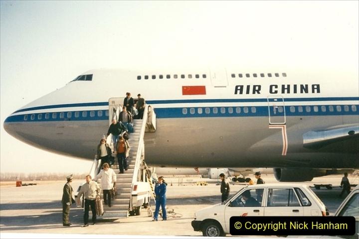 China 1997 November Number 1. (7) Arrival in Bejing. 007