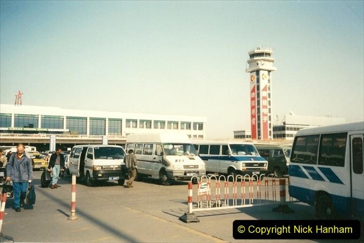 China 1997 November Number 1. (8) Arrival in Bejing. 008