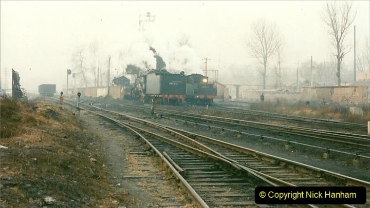 China 1997 November Number 1. (91) Steel Works shed area. 091