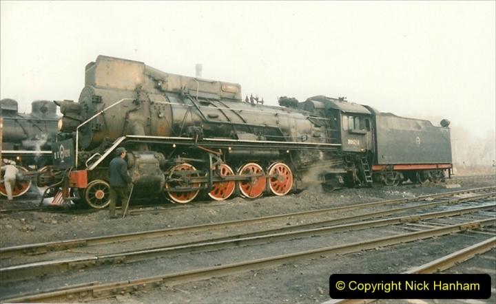 China 1997 November Number 1. (93) Steel Works shed area. 093
