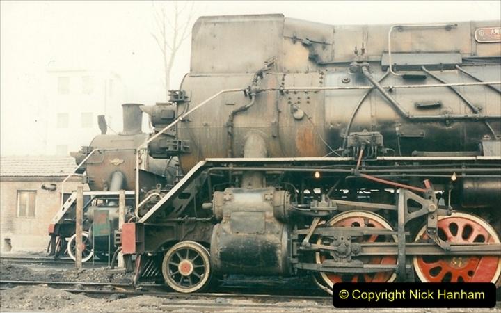 China 1997 November Number 1. (94) Steel Works shed area. 094