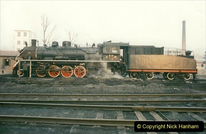China 1997 November Number 1. (95) Steel Works shed area. 095