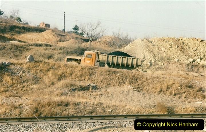 China 1997 November Number 2. (13) Yebaishou area linesiding. 013